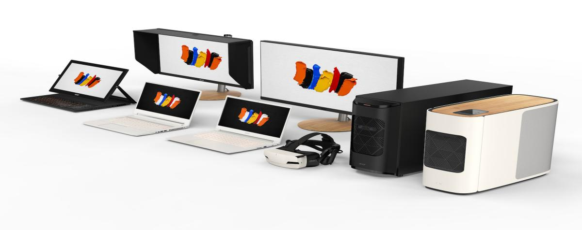 Acer's ConceptD computers address multimedia creative professionals