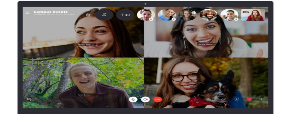 Skype doubles its group call limit to 50 participants
