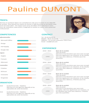 Example of Rome CV