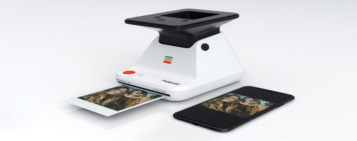 The Polaroid Lab prints the photos of your smartphone