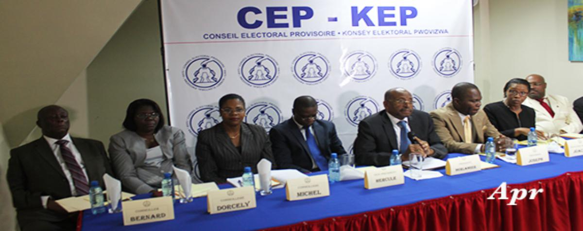 Haiti: The legal directorate of the Provisional Electoral Council examines the complaint filed by the seven senators