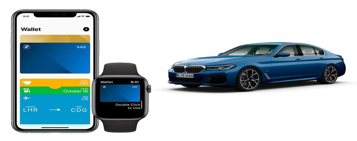 BMW dematerializes the car key on the iPhone