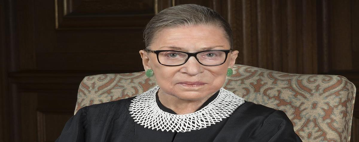 justice ruth bader ginsburg, a trailblazing, tireless fighter for rights