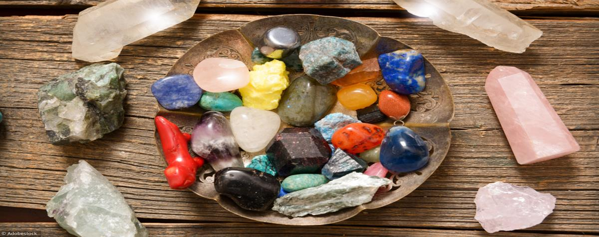 Using stones for their healing and protective power