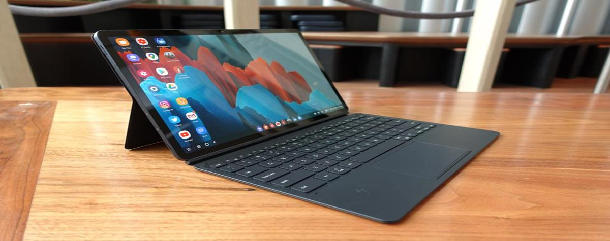 Galaxy Tab S7: a tablet purchased, a tablet offered at Samsung