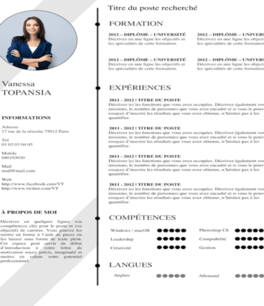 Sample Chameleon CV