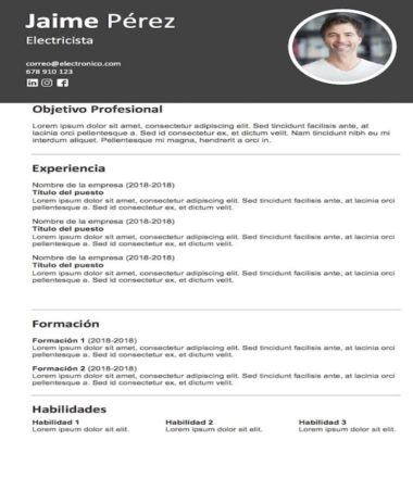 Templates Curriculum Vitae To Download For Free Steven